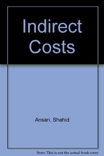 9780256271409: Indirect Costs