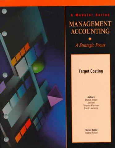 9780256271454: Target Costing Version 1.1 (Module
