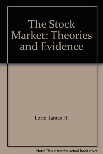 9780256271652: The Stock Market: Theories and Evidence