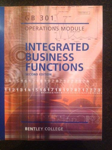 Integrated Business Functions - Operations Module (Custom for Bentley College): Bentley College