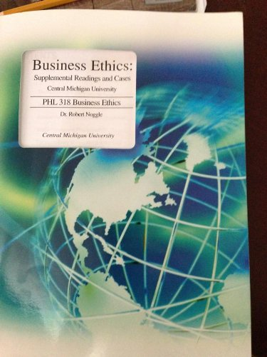 9780256981728: Business Ethics