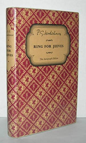 9780257662060: Ring for Jeeves