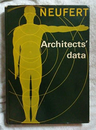 Architects' Data: Neufert, Ernst