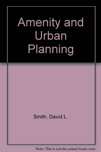 9780258969120: Amenity and Urban Planning