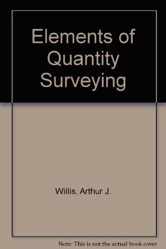 9780258970980: Elements of Quantity Surveying