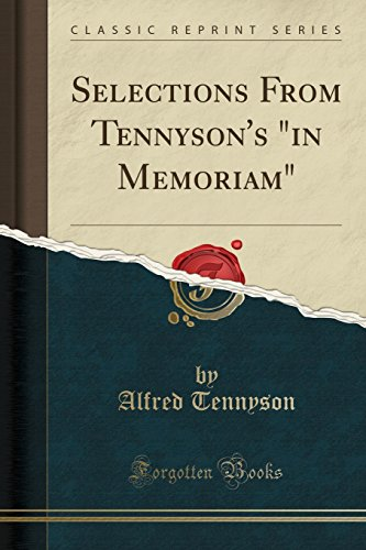 9780259093046: Selections From Tennyson's