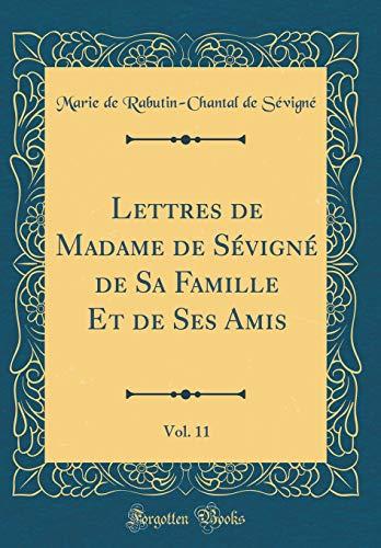 Lettres de Madame de Sevigne de Sa: Marie De Rabutin