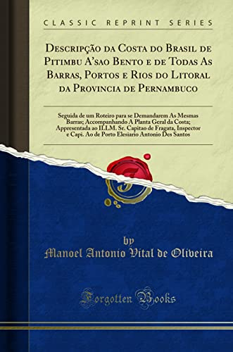 Descripção da Costa do Brasil de Pitimbu: Manoel Antonio Vital