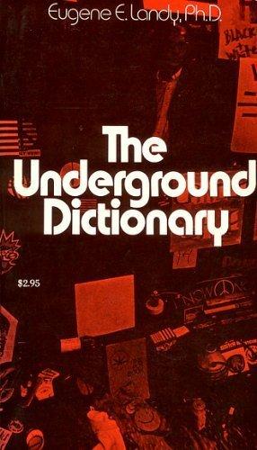 9780261100169: Underground Dictionary