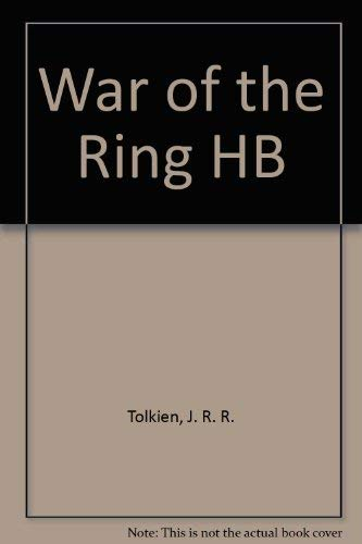 9780261102019: War of the Ring Hb