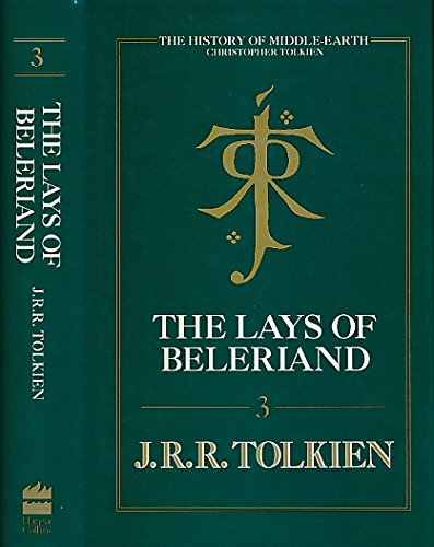 9780261102057: The Lays of Beleriand (The History of Middle-Earth, Vol. 3)