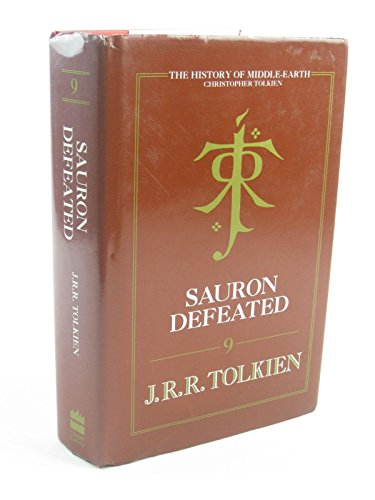 9780261102408: The History of Middle-earth (9) - Sauron Defeated: The History of Middle-Earth, Vol XI