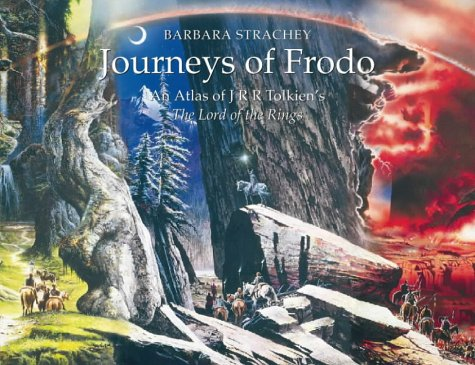 9780261102675: Journeys of Frodo: An Atlas of J. R. R. Tolkien's The Lord of the Rings