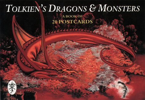 Tolkien's Dragons and Monsters: Postcard Book: J.R.R. Tolkien