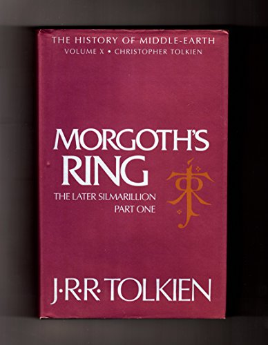 9780261103047: The History of Middle-earth (10) – Morgoth's Ring