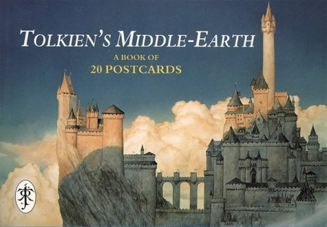 Tolkien's Middle-earth: A book of Postcards: Tolkien, J. R.