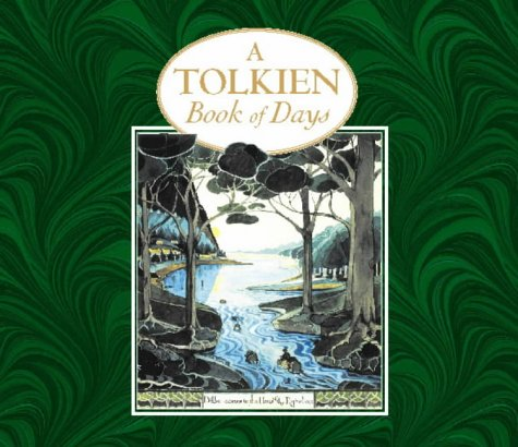 9780261103351: A Tolkien book of days