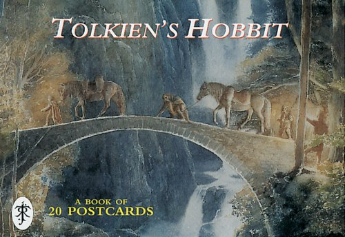 9780261103511: Tolkien's Hobbit: Postcard Book