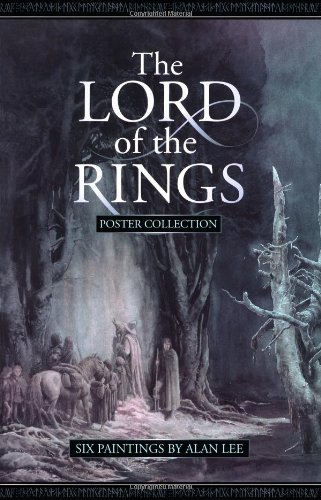 9780261103887: The Lord of the Rings Poster Collection: Six Paintings by Alan Lee (No. 1)