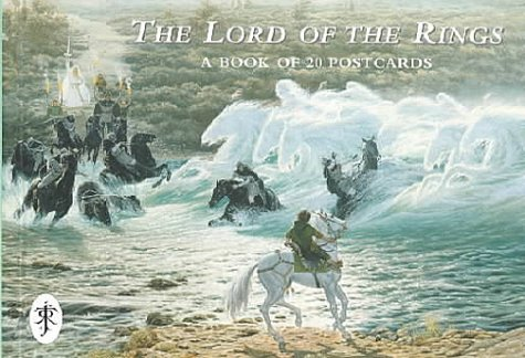 9780261104037: The Lord of the Rings: A Book of 20 Postcards