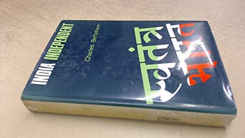 India Independent: Charles. Bettelheim