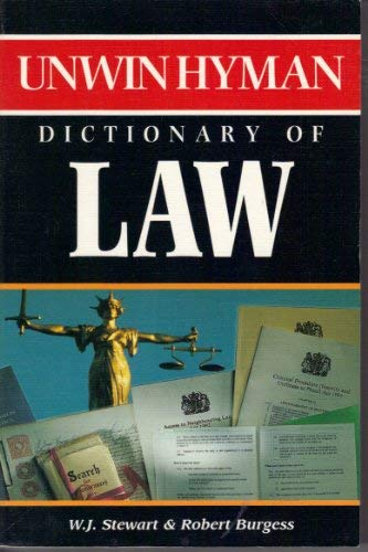 9780261672185: Dictionary of Law