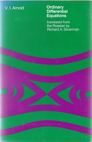 9780262010375: Ordinary Differential Equations