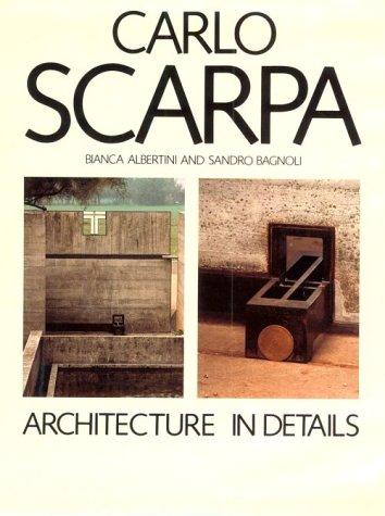 9780262011075: Carlo Scarpa: Architecture in Details