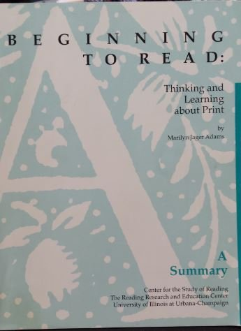 9780262011129: Beginning to Read: Thinking and Learning About Print