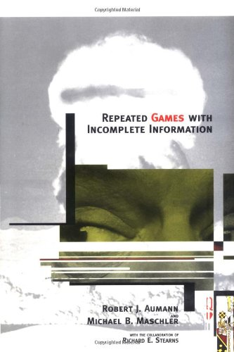 9780262011471: Repeated Games with Incomplete Information