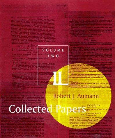 Collected Papers, Vol. 2: Aumann, Robert J.