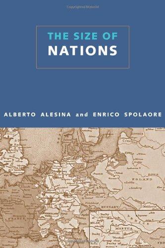 The Size of Nations: Alesina, Alberto & Enrico Spolaore.