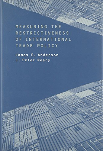9780262012201: Measuring the Restrictiveness of International Trade Policy (MIT Press)
