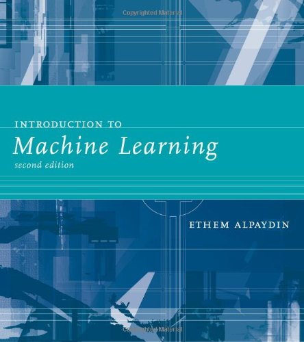 9780262012430: Introduction to Machine Learning (Adaptive Computation and Machine Learning series)