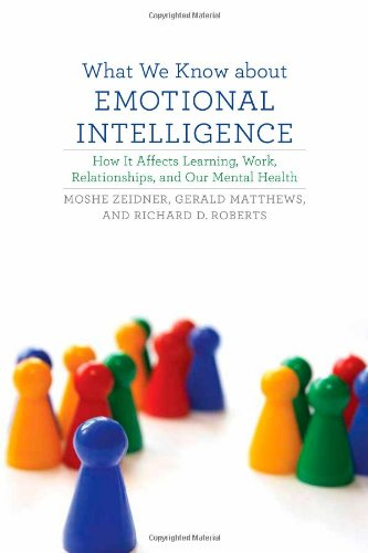9780262012607: What We Know about Emotional Intelligence: How It Affects Learning, Work, Relationships, and Our Mental Health