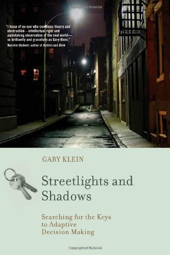 9780262013390: Streetlights and Shadows: Searching for the Keys to Adaptive Decision Making (Bradford Books)