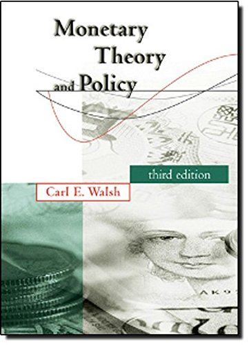 9780262013772: Monetary Theory and Policy
