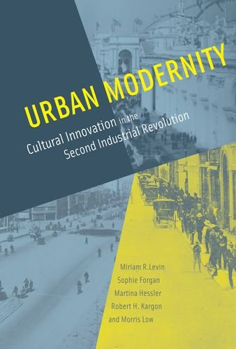 Urban Modernity: Cultural Innovation in the Second Industrial Revolution.: Levin, Miriam R.