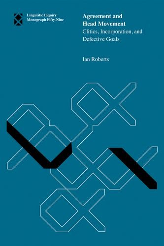 9780262014304: Agreement and Head Movement: Clitics, Incorporation, and Defective Goals (Linguistic Inquiry Monographs)