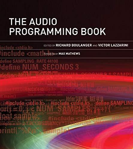 9780262014465: The Audio Programming Book (MIT Press)