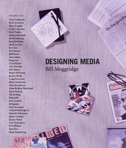 Designing Media [With DVD] (Hardcover): Bill Moggridge