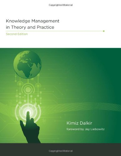 9780262015080: Knowledge Management in Theory and Practice (MIT Press)