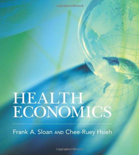 9780262016766: Health Economics