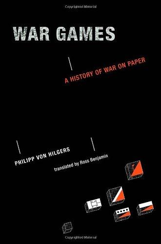 9780262016971: War Games: A History of War on Paper (MIT Press)