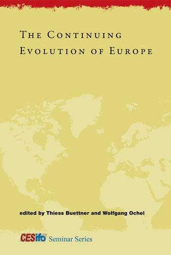 9780262017015: The Continuing Evolution of Europe (CESifo Seminar Series)