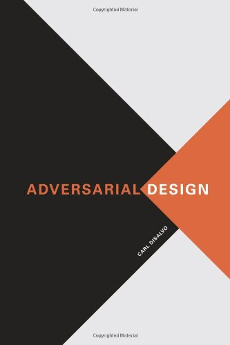9780262017381: Adversarial Design (Design Thinking, Design Theory)