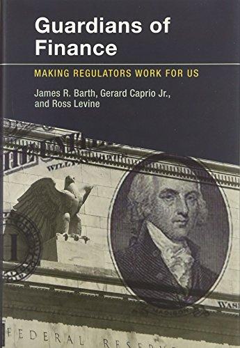 9780262017398: Guardians of Finance: Making Regulators Work for Us