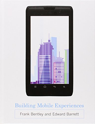 9780262017930: Building Mobile Experiences (MIT Press)