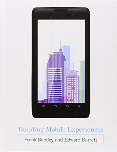 9780262017930: Building Mobile Experiences