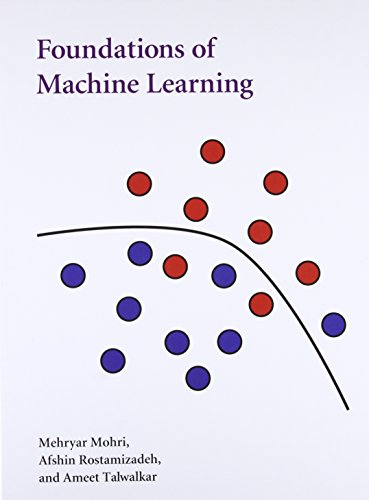 9780262018258: Foundations of Machine Learning (Adaptive Computation and Machine Learning series)